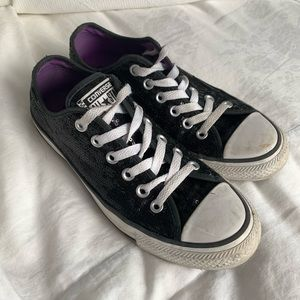 Converse All-Star sequin shoes